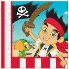 20 Serviettes Jake le Pirate