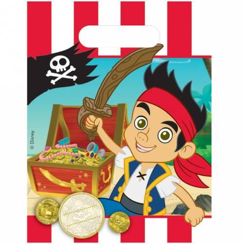 6 Pochettes à cadeaux Jake le Pirate