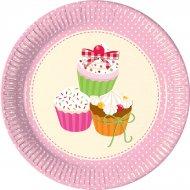 10 Assiettes Delicieux Cupcakes