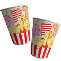 Contient : 1 x 8 Gobelets Winnie Party
