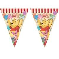 Contient : 1 x Guirlande fanions Winnie Party
