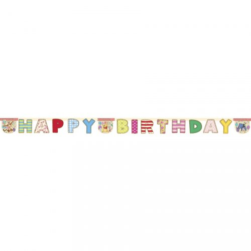 Guirlande lettres Happy Birthday Winnie Party