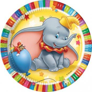 10 assiettes dumbo l 39 l phant pour l 39 anniversaire de votre enfant annikids - Piscine bassins anniversaire versailles ...
