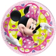 8 Assiettes Minnie Flowers
