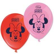 8 Ballons Minnie Flowers