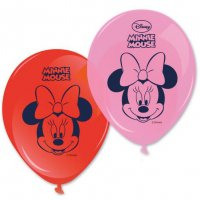 Contient : 1 x 8 Ballons Minnie Flowers