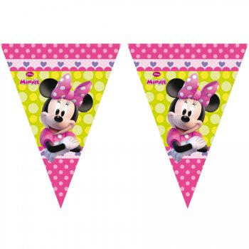 Guirlande fanions Minnie Flowers