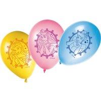 Contient : 1 x 8 Ballons Princesse Disney Glamour
