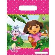 6 Pochettes Cadeaux Dora Aventure