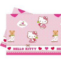Contient : 1 x Nappe Hello Kitty Cerise