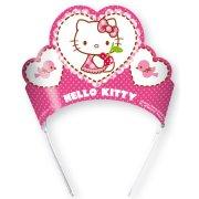 6 Couronnes Hello Kitty Cerise