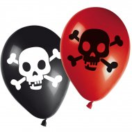 8 Ballons Pirate Terreur