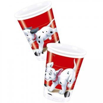 8 Gobelets 101 Dalmatiens