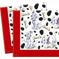20 Serviettes 101 Dalmatiens