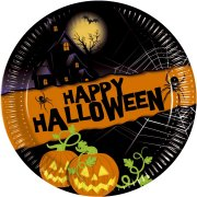 8 Petites Assiettes New Halloween