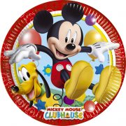 8 Assiettes Mickey Party