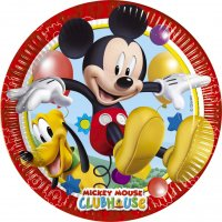 Contient : 1 x 8 Assiettes Mickey Party