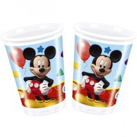 Contient : 1 x 8 Gobelets Mickey Party