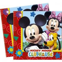 Contient : 1 x 16 Serviettes Mickey Party