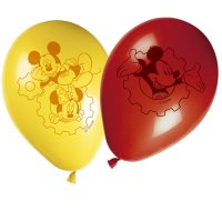 Contient : 1 x 8 Ballons Mickey Party