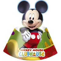 Contient : 1 x 6 Chapeaux Mickey Party