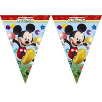 Contient : 1 x Guirlande fanions Mickey Party