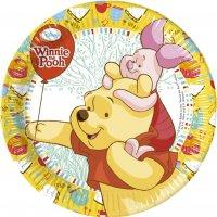 Contient : 1 x 8 Assiettes Winnie et ses amis
