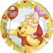 8 Petites Assiettes Winnie et ses amis