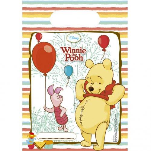 6 Pochettes Cadeaux Winnie et ses amis