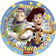 8 Assiettes Toy Story Star Power