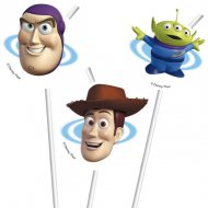 6 Pailles Toy Story Star Power