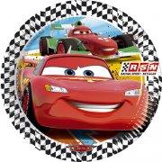8 Assiettes Cars RSN