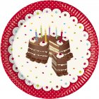 8 Assiettes Birthday Cake
