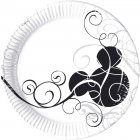 25 Assiettes Mickey Black & white
