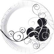 25 Assiettes Mickey Black & white
