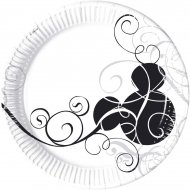 25 Assiettes Mickey Arabesque