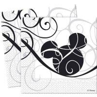 Contient : 1 x 25 Serviettes Mickey Arabesque