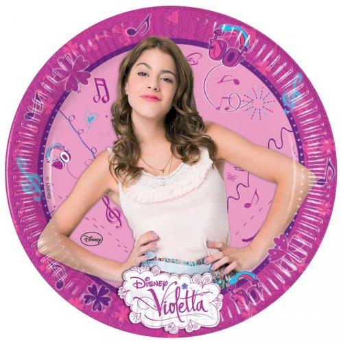 8 Assiettes Violetta