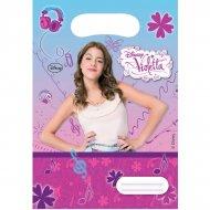 6 Pochettes cadeaux Violetta