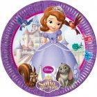 8 Assiettes Princesse Sofia