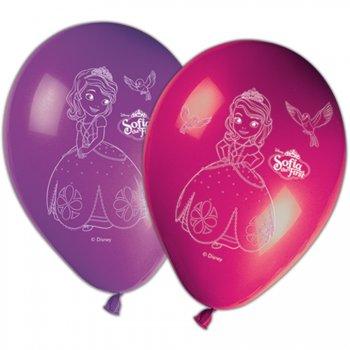 8 Ballons Princesse Sofia
