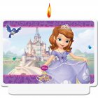 Bougie plaquette Princesse Sofia