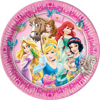 8 Assiettes Princesses & Cie