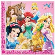 20 Serviettes Princesses & Cie