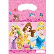 6 Pochettes à cadeaux Princesses & Cie