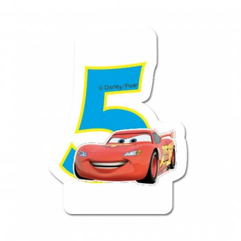 Bougie 5 ans Cars