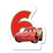 Bougie 6 ans Cars