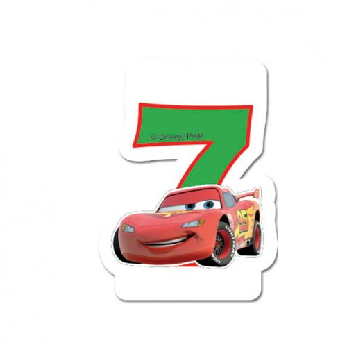 Bougie 7 ans Cars