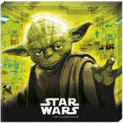 20 Serviettes Star Wars Fight