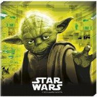 20 Serviettes Star Wars Fight